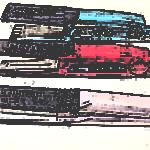 アイロンが3台並んでいる画像