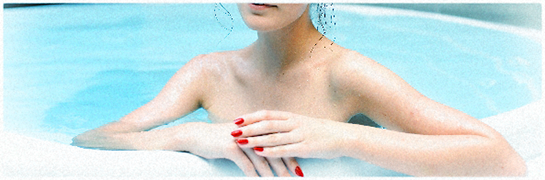 パーマお手入れの仕方2の記事/入浴中の画像