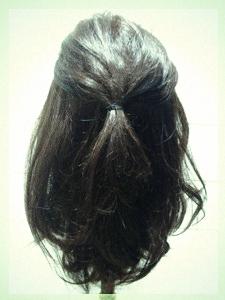9月26日記事のヘアスタイル2