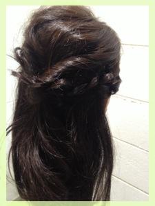 9月26日記事のヘアスタイル8