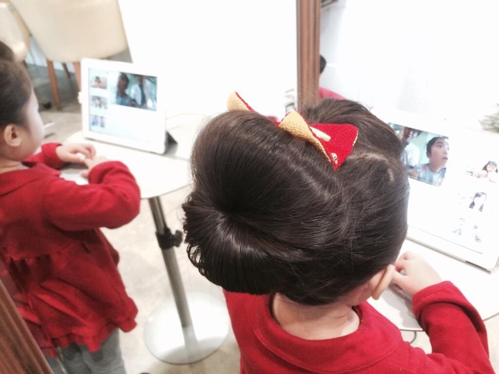 11月29日の記事「七五三ヘアアレンジ」挿入画像1