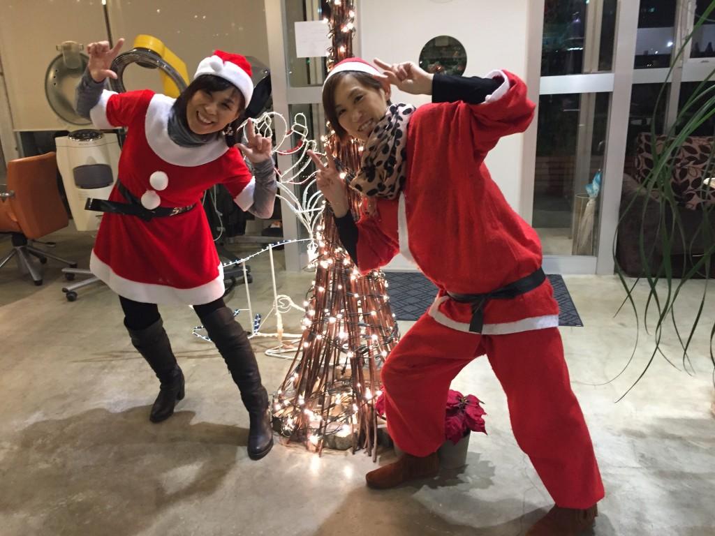 12月26日記事「おもいたってイメチェン」画像サンタ
