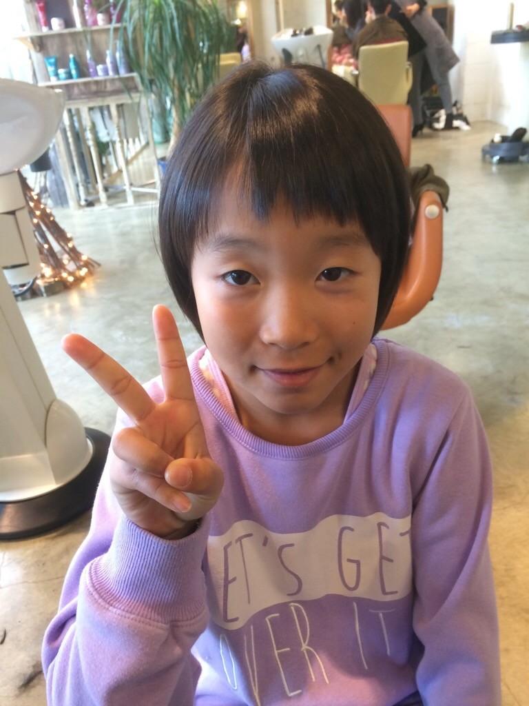 1月8日記事「丸みキッズカット」画像女の子1