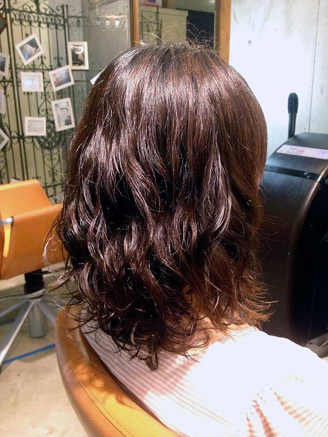 ジャムウ-夏にむけてパーマをかけたい!髪を結ばず、下ろすだけでオシャレになりたい!  そんなときは、エアウェーブ!