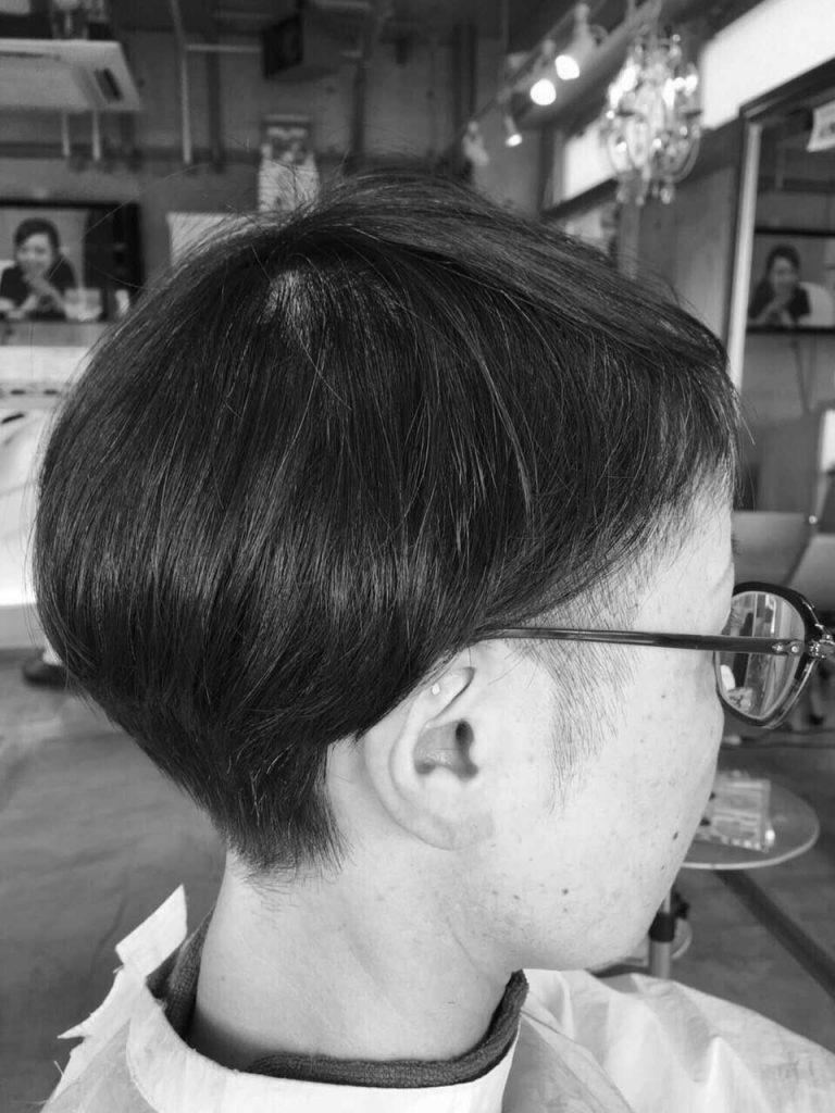 美容室-山口長門-ショートカット-160728-3