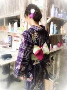 美容室ジャムウ-浴衣-山口県長門市-160731-1
