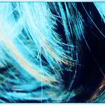 パーマヘアのどアップ画像